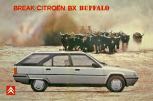 Citroen BX Break buffalo pub