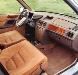 INtérieur Citroën BX Buffalo