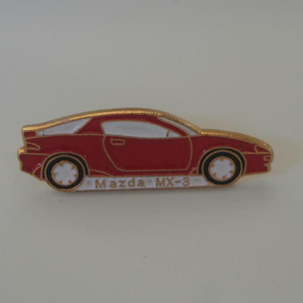 Pin's Mazda MX3