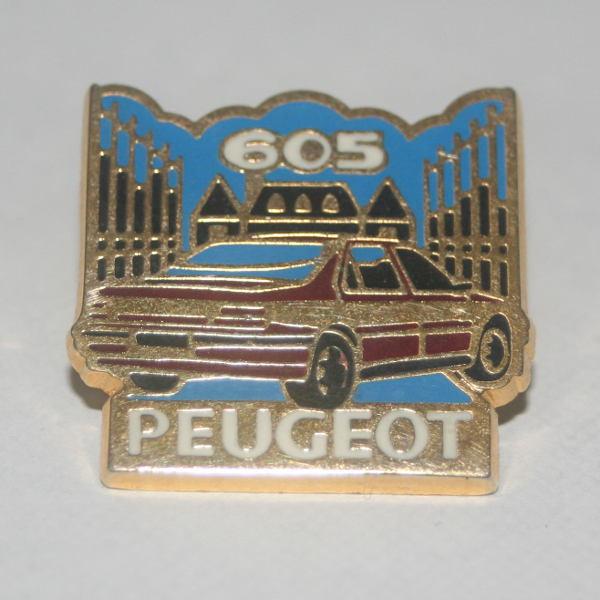 Pin's Peugeot 605