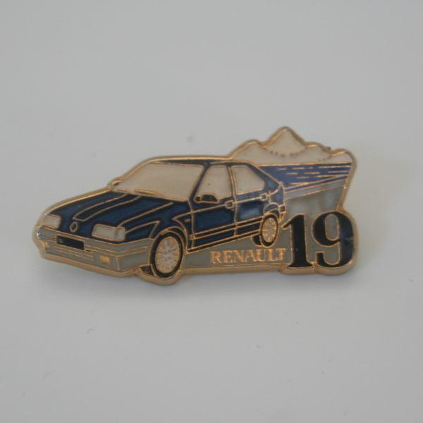 Pin's Renault 19