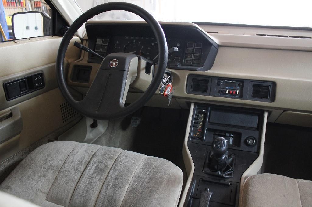 Intérieur de la Talbot Tagora SX