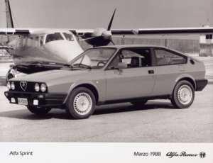 Alfa Sprint QV 1988