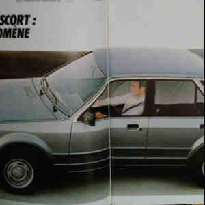 Brochure Ford Escort MK3