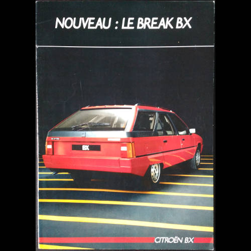 Brochure Citroën BX Break