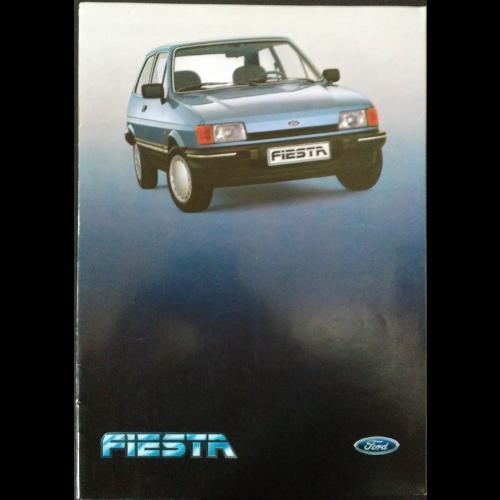 Brochure Ford Fiesta 1985
