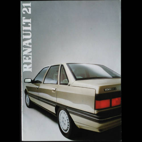 Brochure Renault 21 phase 1