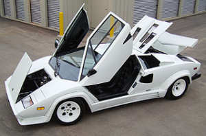 Lamborghini Countach LP 500 youngtimer