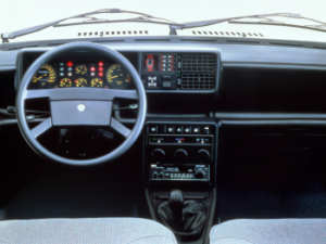 Intérieur de la Lancia Prisma 4WD