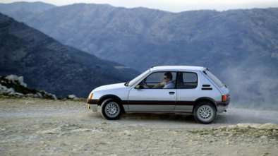 Peugeot 205 GTI voiture youngtimer