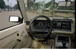 Intérieur Renault 25 GTX
