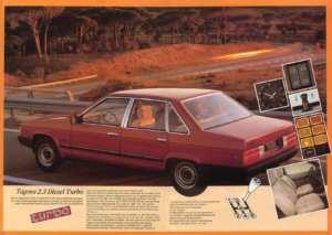 Talbot Tagora Turbo Diesel