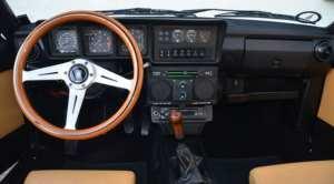 Alfa Romeo GTV6 intérieur