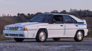Citroën BX 4 TC voiture youngtimer