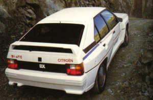 Citroën BX 4 TC