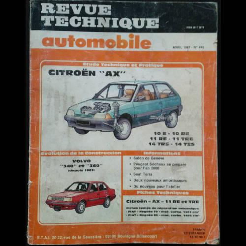 RTA Citroën AX