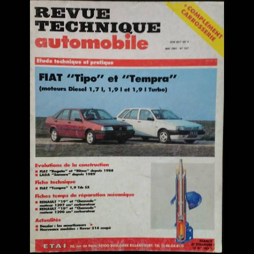 RTA Fiat TIPO et TEMPRA Diesel