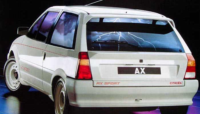 Citroën AX Sport phase 2