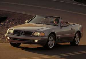 Mercedes SL R129 youngtimer