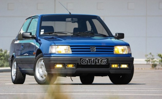 peugeot 309 gti 16 bombe de la route voitures youngtimers. Black Bedroom Furniture Sets. Home Design Ideas