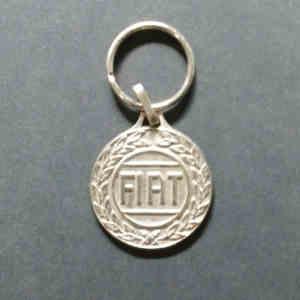 Porte clés FIAT vintage