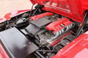 moteur ferrari testarossa koening