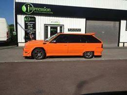 BX Tuning Orange