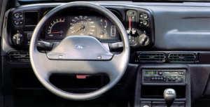 Tableau de bord de la Ford Scorpio 2.9 i 4x4