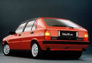 Lancia Delta HF 4WD youngtimer sportive
