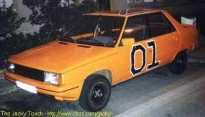 Renault 9 orange