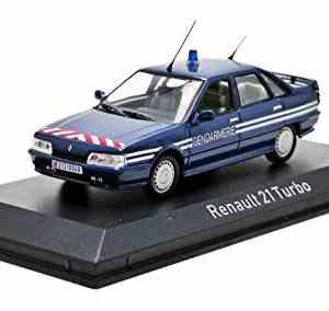 Renault 21 Turbo Gendarmerie 1989 échelle 1/43