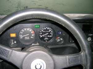 Compteur BMW M1