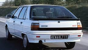 Renault 11 90 GT vue arrière