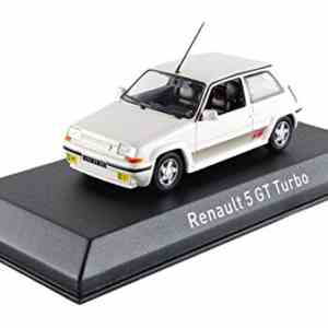 Miniature Renault 5 Gt Turbo 1989 Blanche