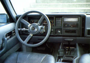 Intérieur Jeep Cherokee XJ