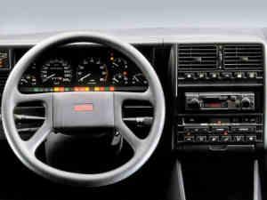 Tableau de bord de la Fiat Croma Turbo i.e