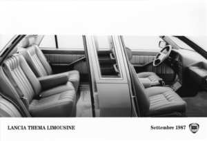 Lancia Thema Limousine 1987