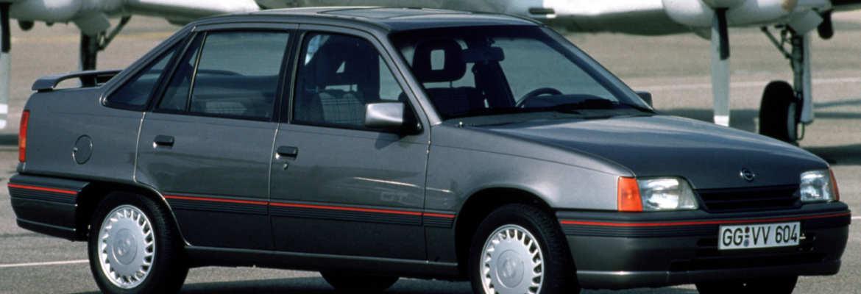 Opel Kadett 1.8i GT 4 portes voiture youngtimer