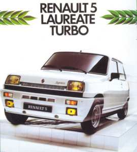 Renault 5 Lauréate Turbo