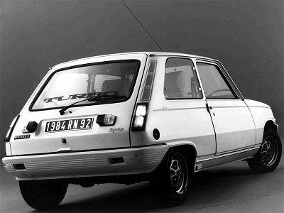 Renault 5 Lauréate youngtimer