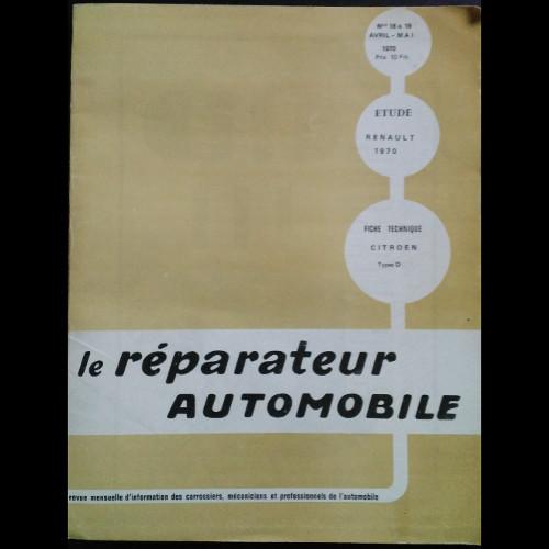 Le réparateur automobile les RENAULT de 1970