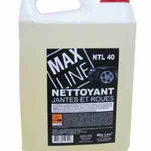 Nettoyant Jantes Max Line NT40 Bidon de 5 L