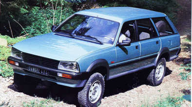 Peugeot 505 Dangel break 4x4