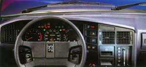 Planche de bord Peugeot 505 série 2