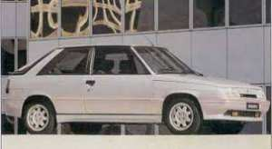 Renault 11 turbo phase 2