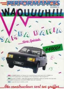 Talbot Samba Bahia
