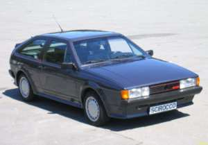 Volkswagen Scirocco GTX 16S