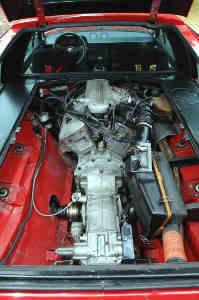 Moteur de l'Alfasud Sprint 6C
