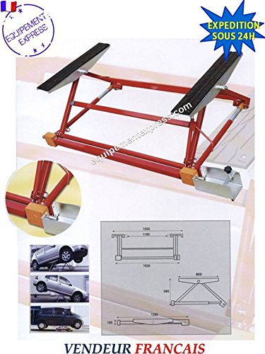 mini pont mobile basculant 1 5t 1 paire de chandelles 3t voitures youngtimers. Black Bedroom Furniture Sets. Home Design Ideas