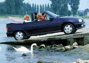 Opel Kadett Cabriolet youngtimer
